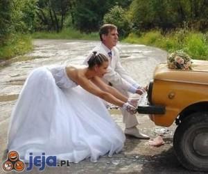Zły początek miesiąca miodowego