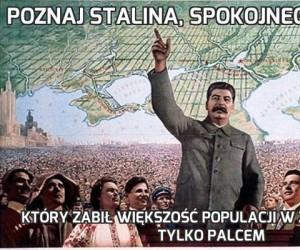 Poznaj Stalina, spokojnego dziadka
