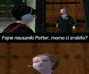 Malfoy, ty hultaju!