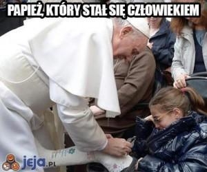 Papież, który stał się człowiekiem