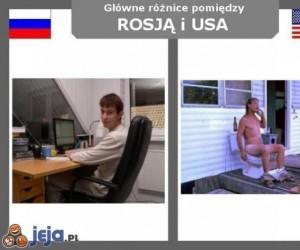 Rosja vs USA - przeciętny obywatel