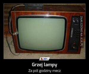 Grzej lampy
