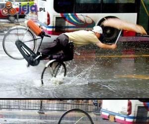 Najlepszy trik rowerowy