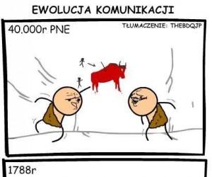 Ewolucja komunikacji