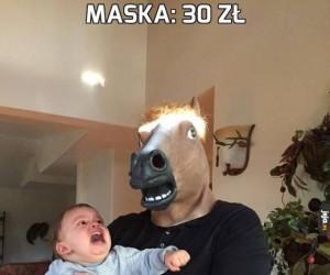 Maska: 30 zł