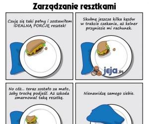 Zarządzanie resztkami jedzenia