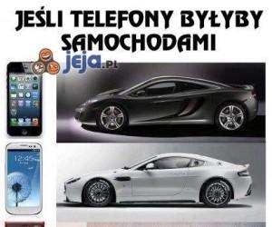 Telefony i auta