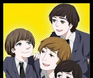 "Jest anime ""The Beatles"""