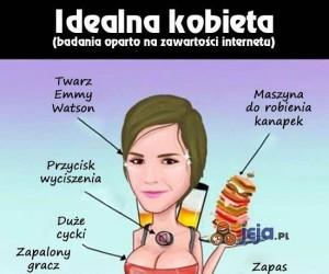 Ideał kobiety na podstawie internetów