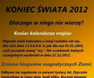 Koniec świata 2012