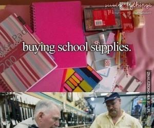 Zakupy do szkoły w Ameryce