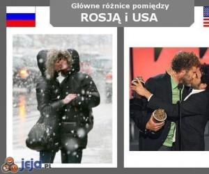 Rosja vs USA - Miłość