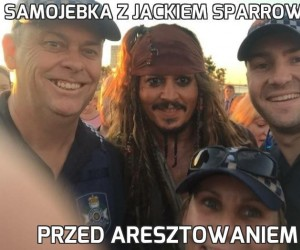 Samojebka z Jackiem Sparrowem