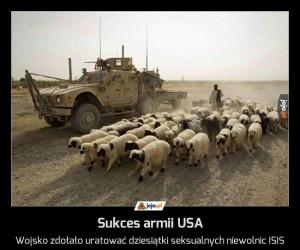 Sukces armii USA