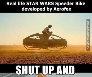 A później przeprowadzę się na Tatooine!