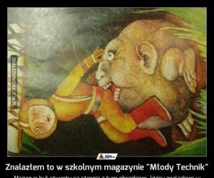 """Znalazłem to w szkolnym magazynie """"Młody Technik"""""""