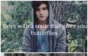 Chłopcy z uśmiechem, od którego masz motylki w brzuchu