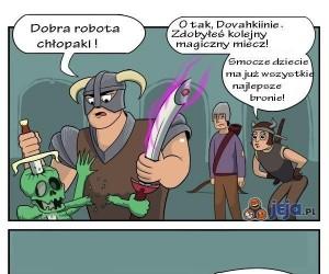 Nie zadzieraj z Dovahkiinem!