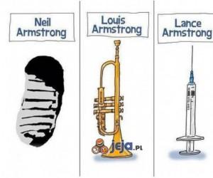 Armstrong - który co zrobił