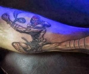 Tatuaż typowego gracza
