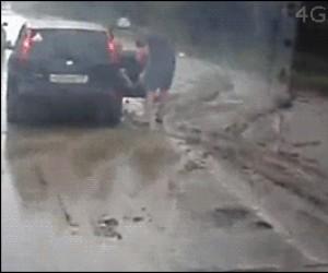 Szaleństwo na drodze