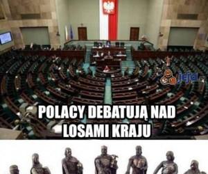 Polacy debatują...