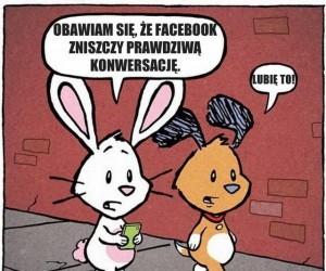 Facebook i konwersacja