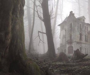 Opuszczony dom w Norwegii