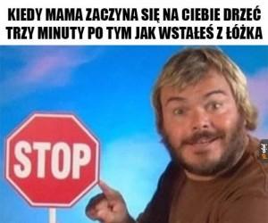 Mamo, przestań