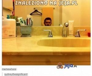 Toaleta z podglądem live