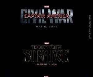 Nachodzące filmy Marvela
