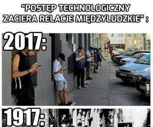 Smutny postęp technologiczny