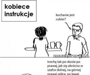 Kobiece instrukcje