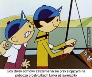 Bolek i Lolek: przystanek w podróży