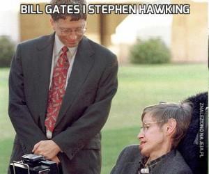 Bill Gates i Stephen Hawking