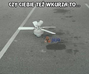 Nie znoszę chamskiego parkowania...