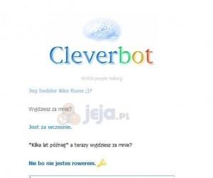 Ach,  ten przebiegły Cleverbot...