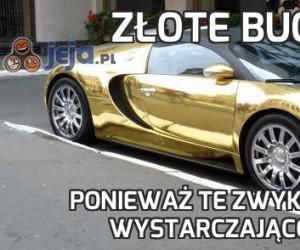 Złote Bugatti