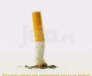 Rzucanie palenia jest łatwe