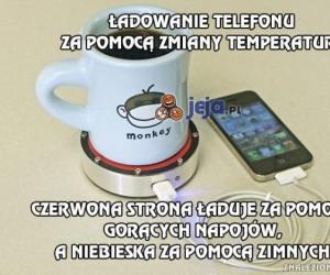 Ładowanie telefonu za pomocą zmiany temperatury
