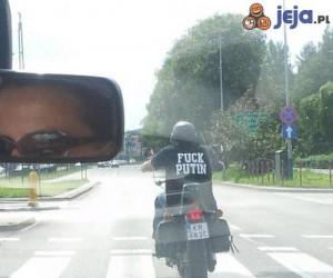 Krakus na motorze z niemoralną propozycją