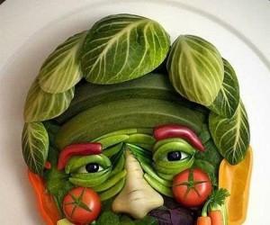 Warzywny obraz