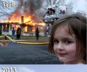 Dziewczynka z mema dorosła i nadal lubi wybuchy