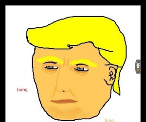 Oto rzadki Paintowy Trump