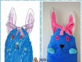 Maskotki z dziecięcych rysunków