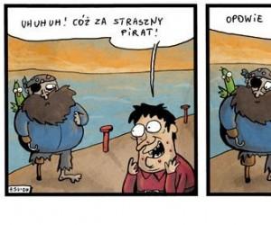 Straszny wypadek pirata