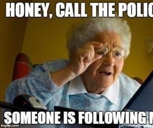 Ktoś mnie śledzi!