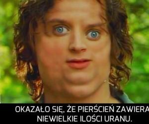 Frodo i skutki noszenia pierścienia