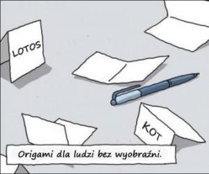 Origami dla ubogich