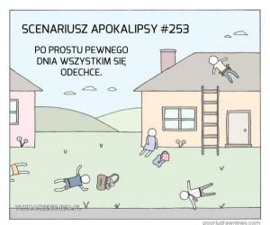 Zombie apokalipsa? A komu to potrzebne?